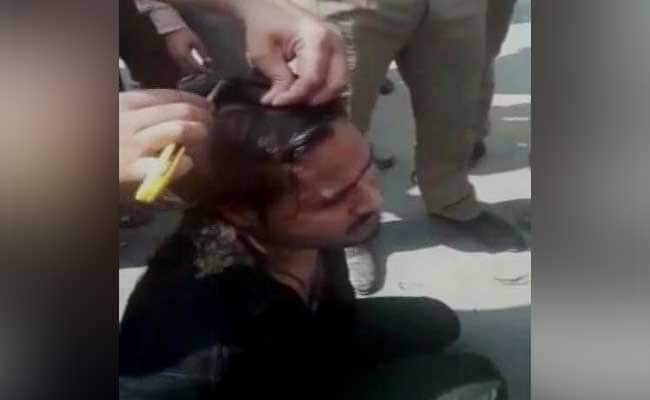 Video Of Anti-Romeo Squad Shaving Man's Head Goes Viral, 3 Cops Suspended
