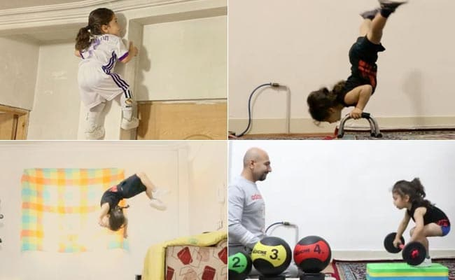 He Climbs Walls, Lifts Weights And Is Only 3. This 'Superkid' Is Viral