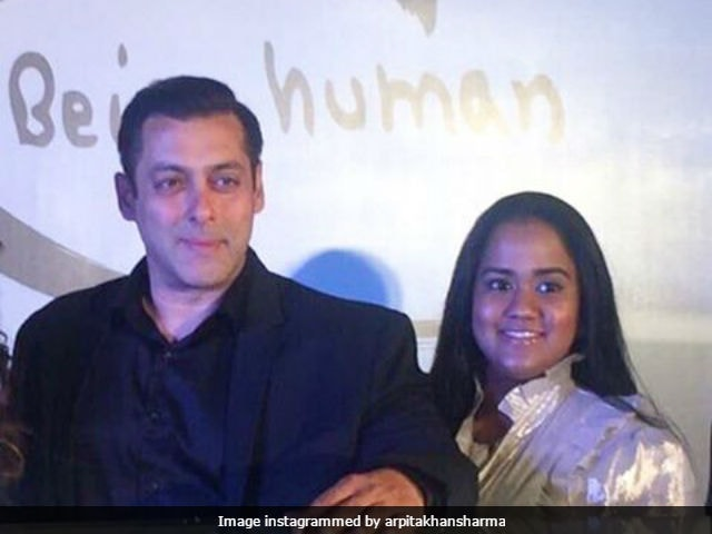 Arpita Khan Shares An Adorable Throwback Picture With Salman Khan
