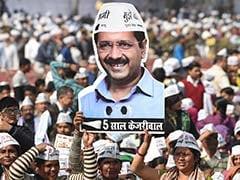 EVM विवाद पर AAP ने किया चुनाव आयोग के दफ्तर के बाहर प्रदर्शन, ये थी 3 मांगें