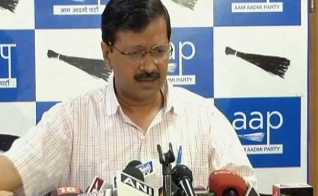 Arvind Kejriwal Calls For Withdrawal Of EVMs Sourced From Rajasthan