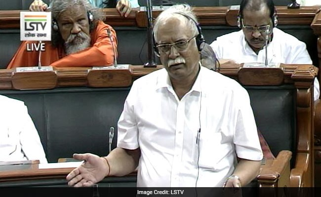 Shiv Sena Minister Anant Geete Charged At Civil Aviation Minister Ashok Gajapathi Raju In Lok Sabha: 10 Points