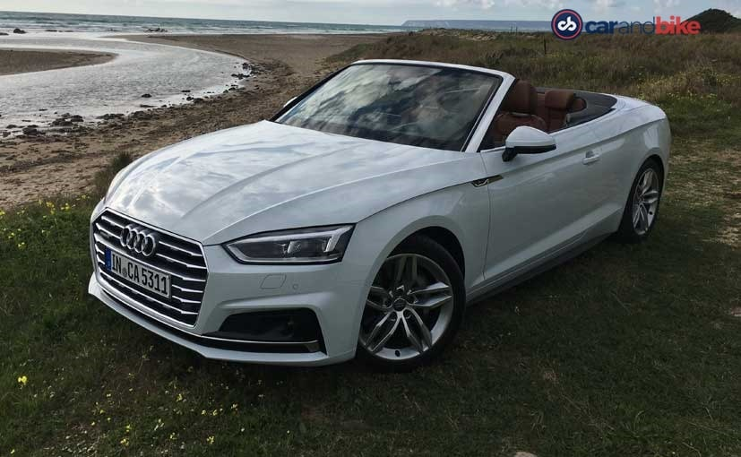 Audi A5 Cabriolet Review New Car Is a Treat For The Senses  NDTV