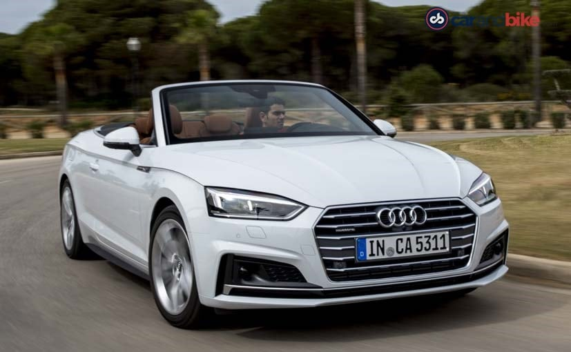audi a5 cabriolet review new car is a treat for the senses ndtv carandbike. Black Bedroom Furniture Sets. Home Design Ideas