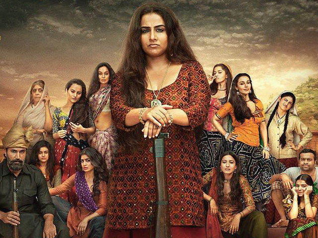 <i>Begum Jaan</i> Movie Review: Vidya Balan Is Wasted In Cheesy Film That's Hard To Take Seriously