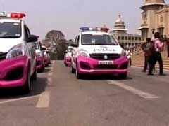 Bengaluru Police Goes Pink With New Panic App, Patrol Vehicles