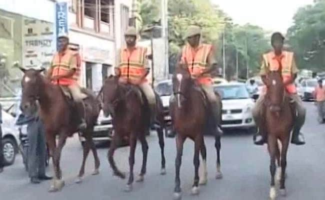 IT Capital Bengaluru Turns To 'Horse-Power' For Law And Order