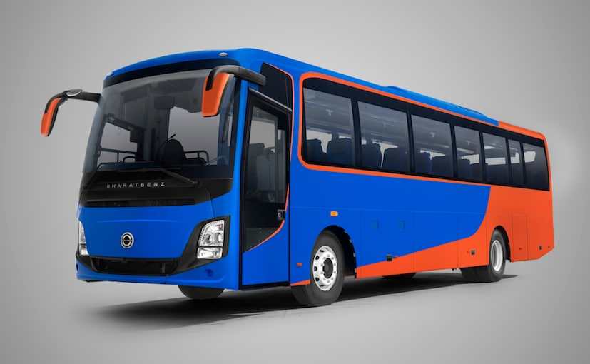 Bharat Benz Launches New Intercity Coach Buses In India