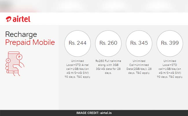 These new plans are available for subscription on prepaid numbers through online payment.