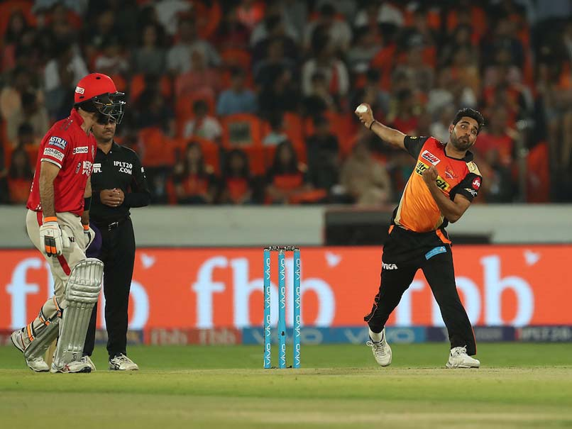 IPL 2017: Match between Sunrisers Hyderabad and Delhi Daredevils underway at Hyderabad