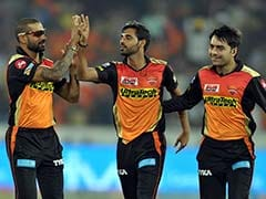 IPL Highlights, SRH vs KXIP: Bhuvneshwar Kumar's 5-For Helps Hyderabad Pull Off Thrilling 5-Run Win Over Punjab