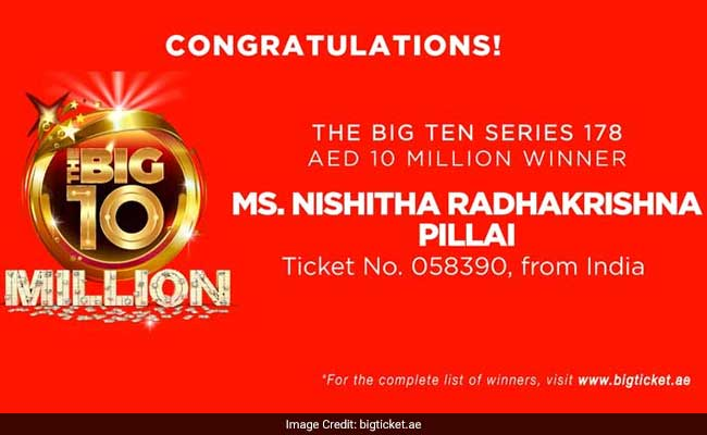 Indian Doctor Wins Over Rs 17.5 Crores In Lottery In UAE