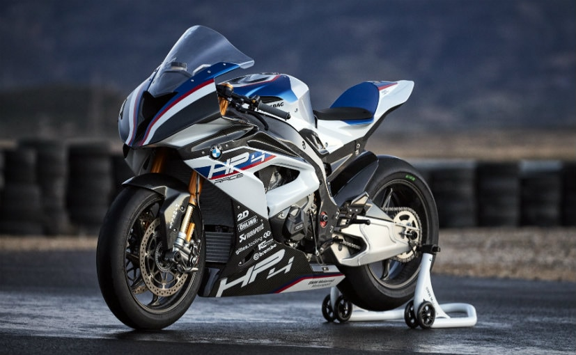Bmw Motorrad Reveals Specifications Of The Hp4 Race Ndtv Carandbike