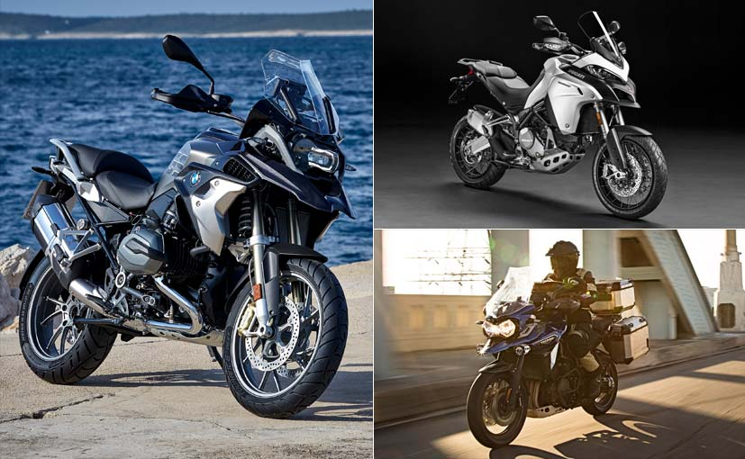 BMW R 1200 GS Adventure Vs Ducati Multistrada Enduro Vs Triumph Tiger Explorer XC: Spec ...