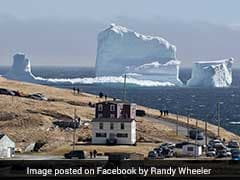 Giant Iceberg Greets Coastal Town In Canada. The Photos Are Must See