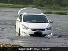 But The GPS Said So! Man Drives Car Into River, Regrets It Later