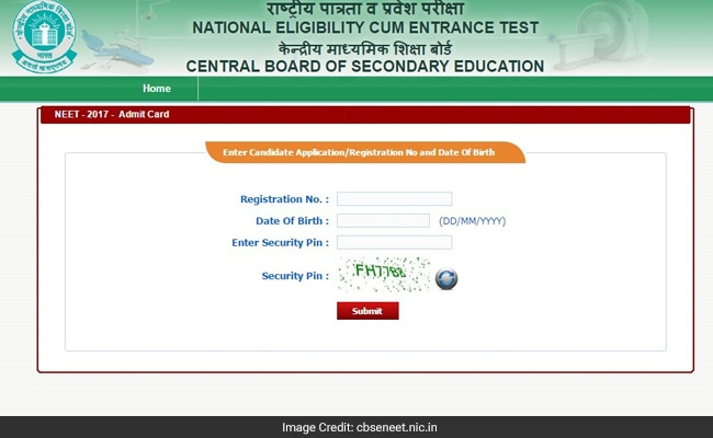 NEET 2017 Admit card released: Website crashing, download here