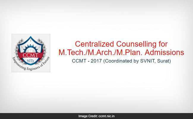 SVNIT Begins Online Registration For Centralized Counselling (CCMT) For Admission To M.Tech.