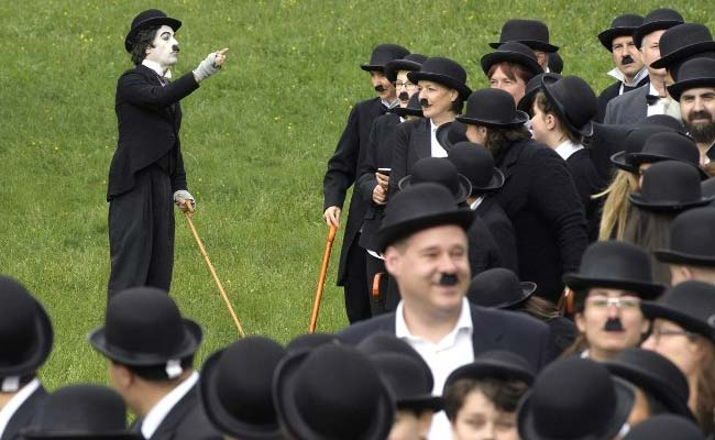 charlie chaplin gathering world record