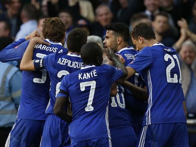Eden Hazard Fires Chelsea To Win Over Tottenham Hotspur, Into FA Cup Final
