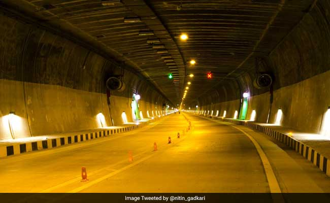 chenani nashri tunnel india longest