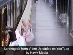 Hold Your Breath. On Camera, When A Baby Fell Between Train And Platform