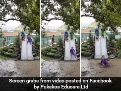 25 Million Views For Delightful Video Of Children Playing In The Rain