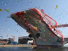 As India Struggles, China Launches First Home-Built Aircraft Carrier