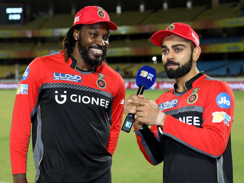 IPL 2017: Watch Virat Kohli Interview Chris Gayle And Both Ending Up In  Splits | Cricket News