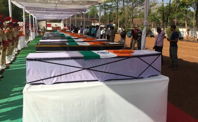 coffins crpf jawans