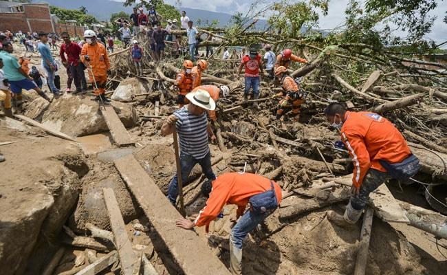 कोलंबिया भूस्खलन : मरने वालों की संख्या बढ़कर 254 हुई, मृतकों में 43 बच्चे