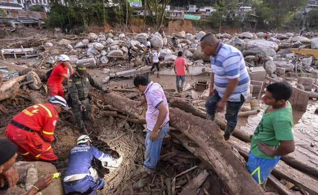 Colombia Mudslides, Floods Kill Over 206 In Midnight Deluge