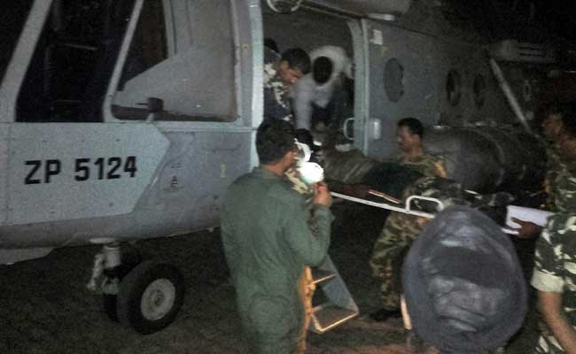 3-Hour Battle With Maoists, Air Force Rescue, And Bravery Of CRPF Jawans