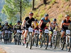 Cycling Event In Uttarakhand Poses Stiff Challenge To Contestants