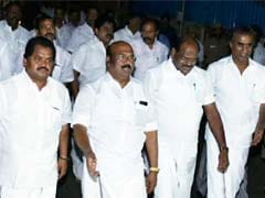 Ahead Of AIADMK Merger Talks, Minister's Offer To Quit Has A Twist