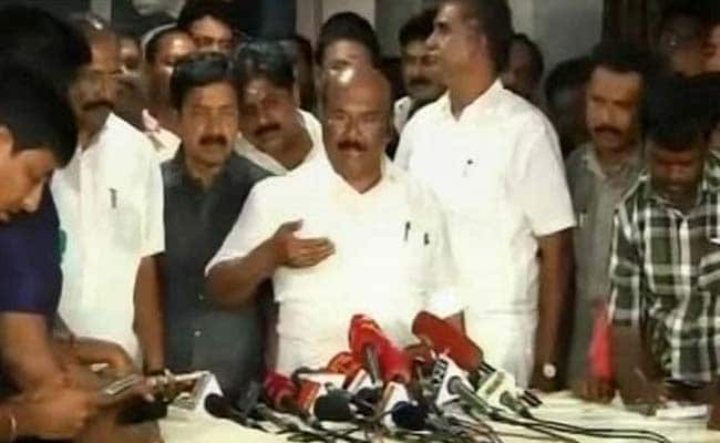 AIADMK Will Decide To Take Disqualified Lawmakers Back: D Jayakumar