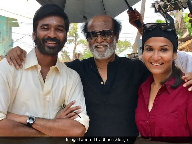 Rajinikanth Is Dhanush's VIP Guest On Film's Last Day Of Shoot