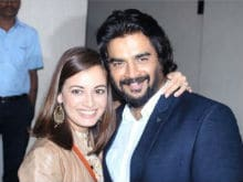 Dia Mirza Shares Throwback Pic With <i>Rehnaa Hai Terre Dil Mein</i> Co-Star Madhavan