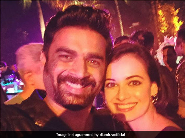 Dia Mirza Shares Throwback Pic With Rehnaa Hai Terre Dil Mein Co-Star Madhavan