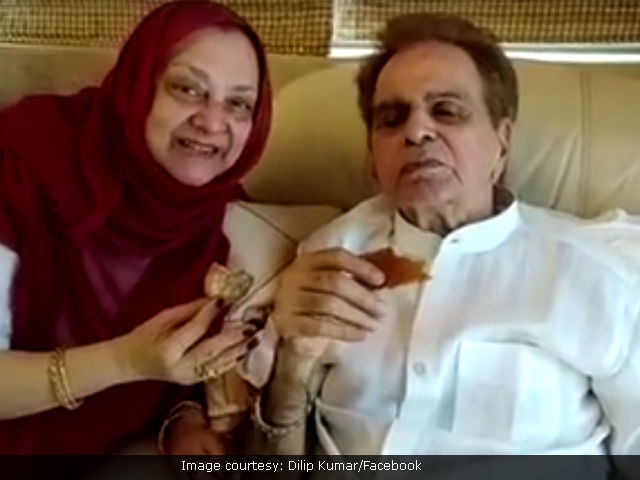 Dilip Kumar Joins Facebook. Shares Adorable Video With Saira Banu