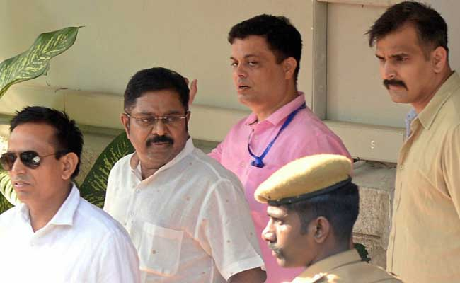 AIADMK Leader TTV Dinakaran Brought To Chennai; Residence Searched