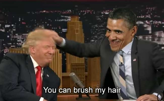 Donald Trump, Barack Obama Sing 'I'm A Barbie Girl' In Viral Mashup