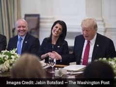 Trump Jokes (Seemingly) About Firing Haley: 'She Could Easily Be Replaced