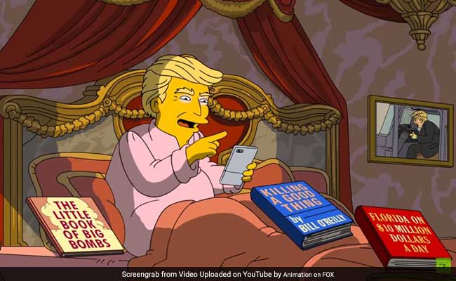 The Simpsons Skewers Donald Trump In 100 Days Episode That Has Gone Viral