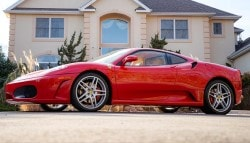 Donald Trump's 2007 Ferrari F430 Auctioned At A Record $270,000