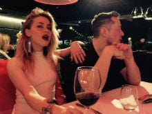Amber Heard Posts Pic With Rumoured Boyfriend Elon Musk, Told She's A 'Gold-Digger'