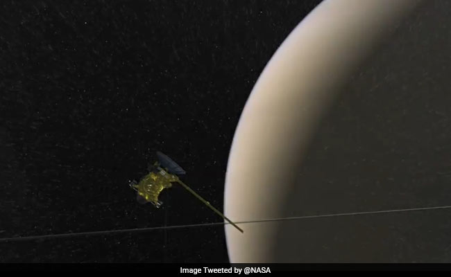 Ingredients For Life Exist On Saturn's Moon, Says NASA. Twitter Excited