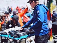 British DJ Hosts World's Highest Party On Everest