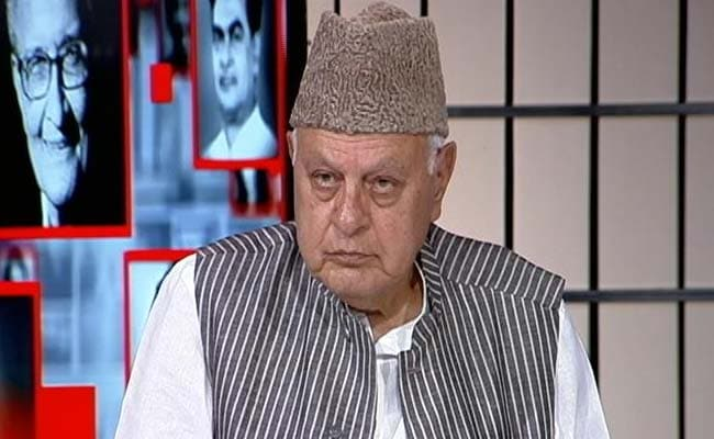 Some Stone Throwers Are Funded By Jammu And Kashmir Government: Farooq Abdullah