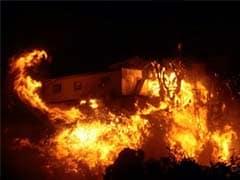 पश्चिम बंगाल: महिला के साथ रेप कर शख्स ने लगाई आग, पीड़िता ने खींचकर उसे भी किया आग के हवाले
